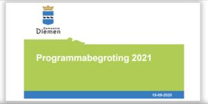 Begroting 2021 Diemen